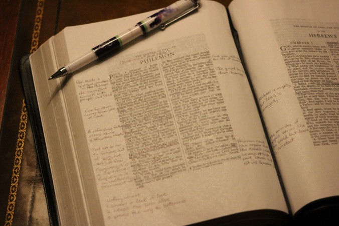 Bible, Philemon (1)