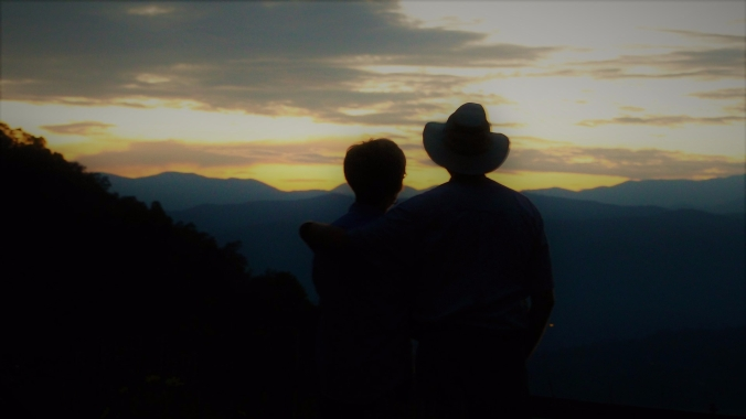 couple-sunset-mountains-nc