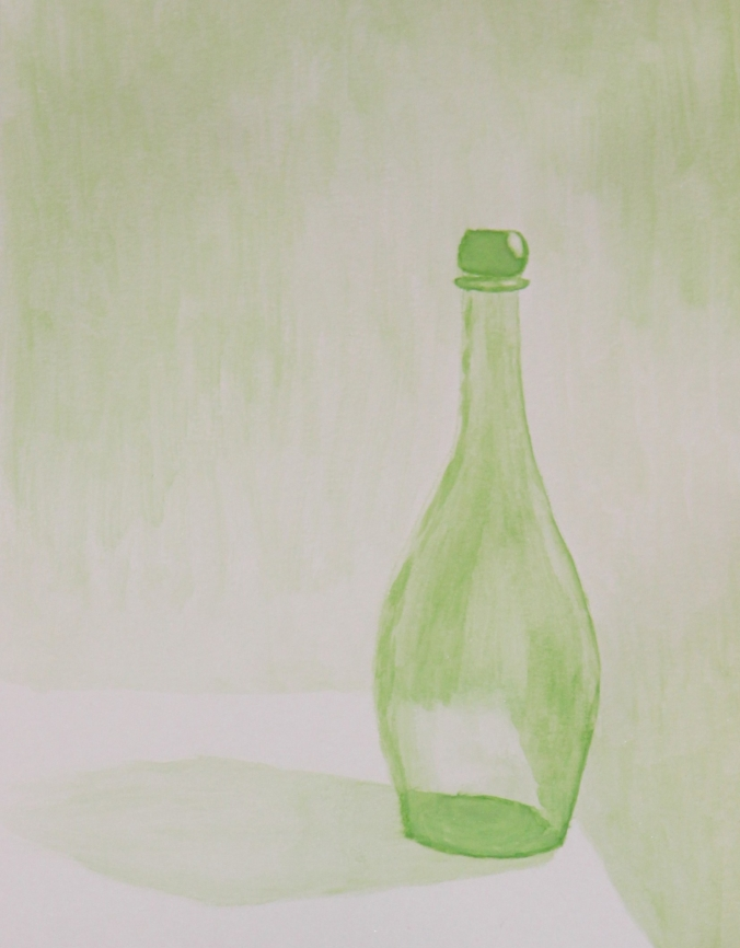 monochromatic-watercolor-still-life