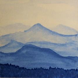 blue-ridge-mountains-watercolor-monochrome