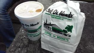 Coffee and Beignets in New Orleans