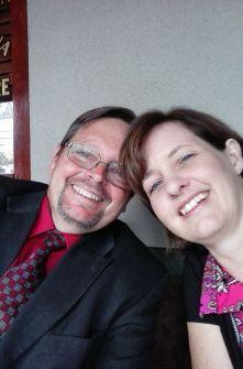 Date night with my husband