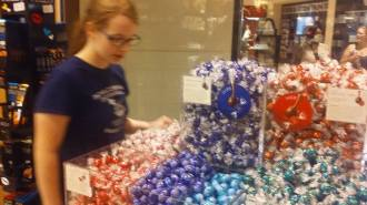 """Chocolate Heaven"" at the Lindt Store In New Orleans"