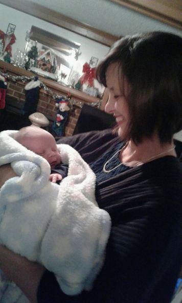 Meeting my newest nephew