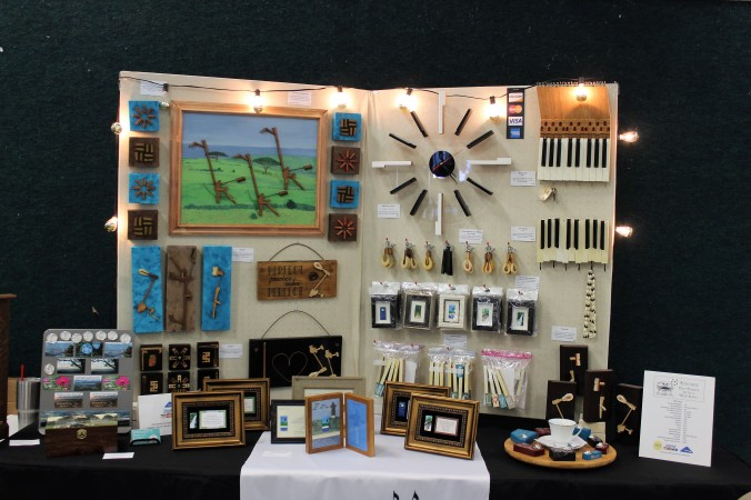 my display at the Timeless Vintage Market