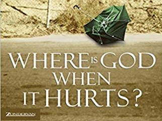 cover art, Where Is God When It Hurts? by Philip Yancey